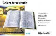 19. De leer der restitutie