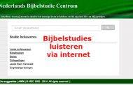Bijbelstudies Ab Klein Haneveld luisteren via internet